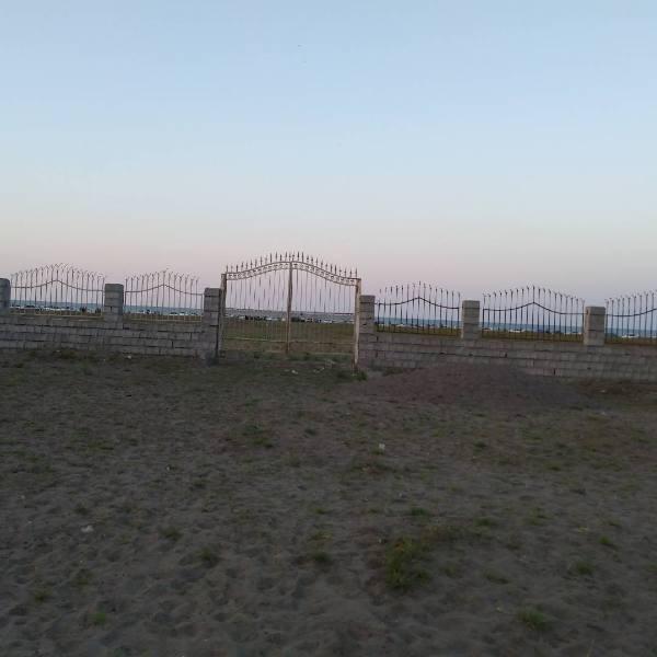 فروش زمین ساحلی حصار کشی شده در رودسر